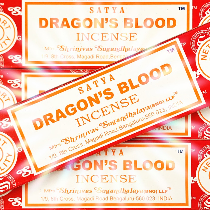 Dragon's Blood Satya Incense Sticks