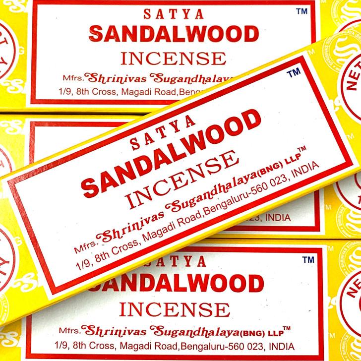 Sandalwood Satya Incense Sticks
