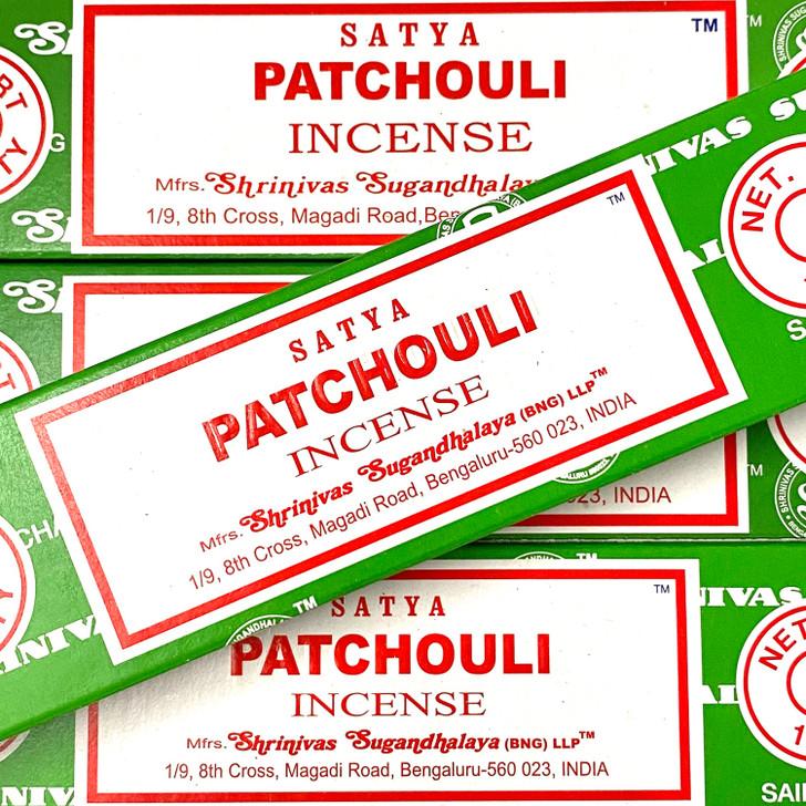 Patchouli Satya Incense Sticks