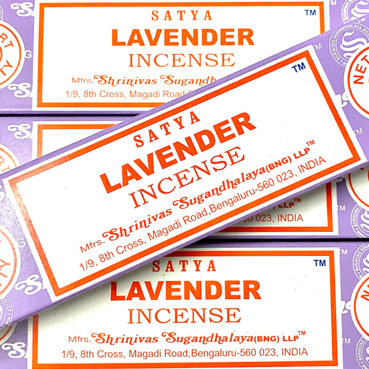 Lavender Satya Incense Sticks
