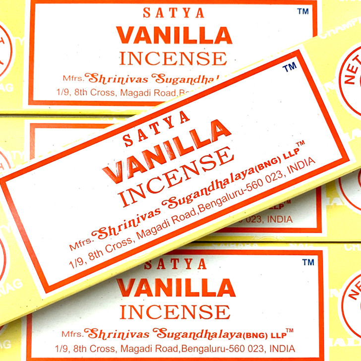 Vanilla Satya Incense Sticks