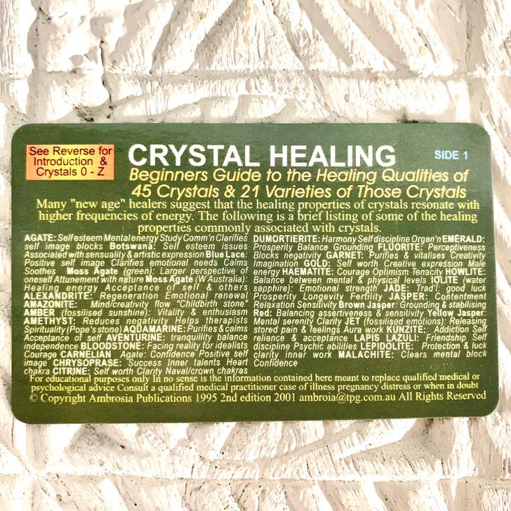 Wallet Card Crystal Healing
