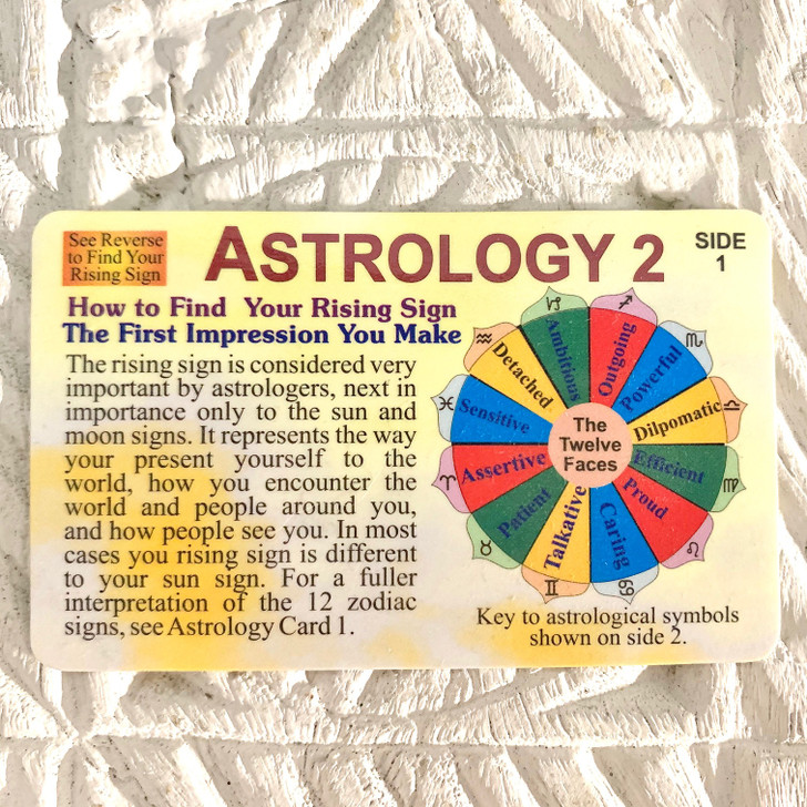 Wallet Card Astrology 2
