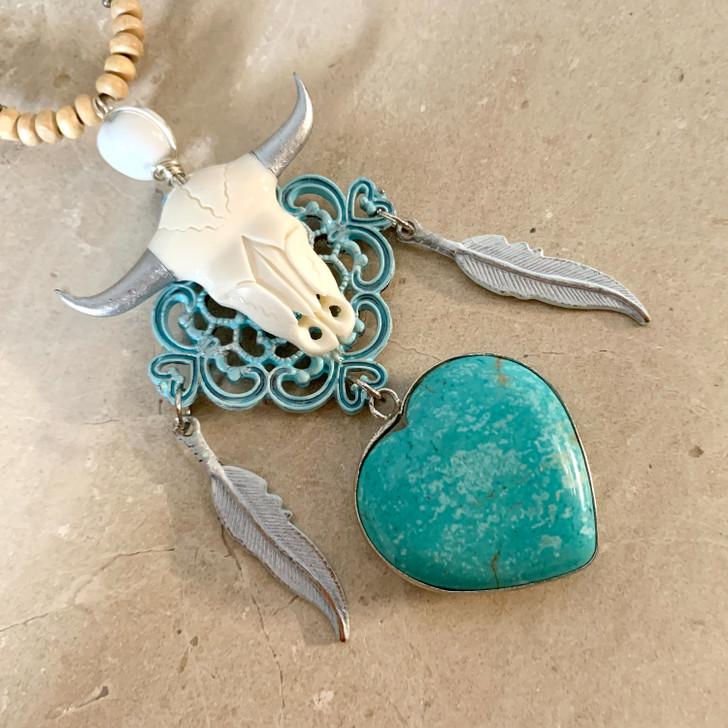Bohemian Love Dreamcatcher Necklace