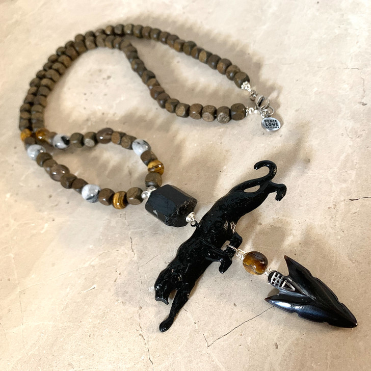 Protection Warrior Puma Necklace