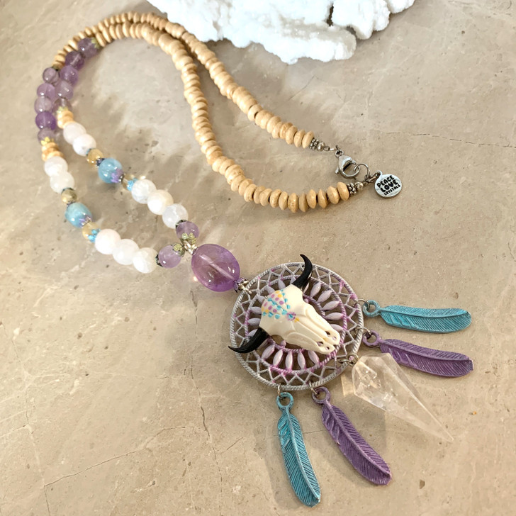 Spiritual Power Dreamcatcher Necklace