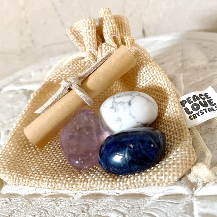 Anxiety Crystal Collection Pouch