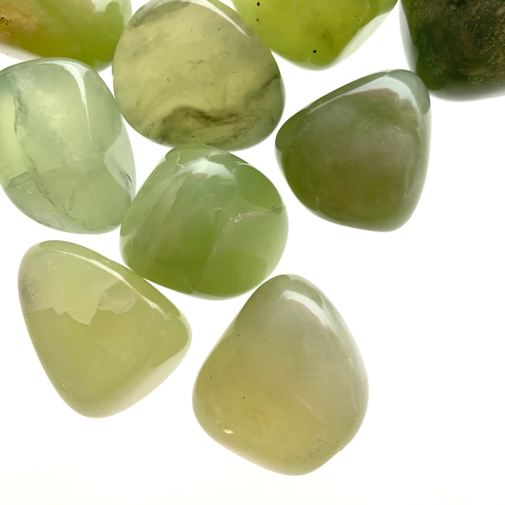 New Jade Tumbled Stones