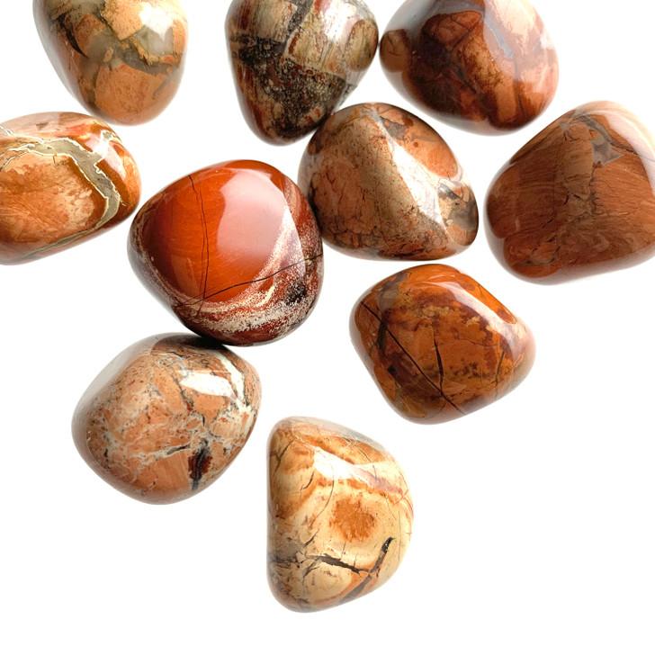 Brecciated Jasper Tumbled Stones