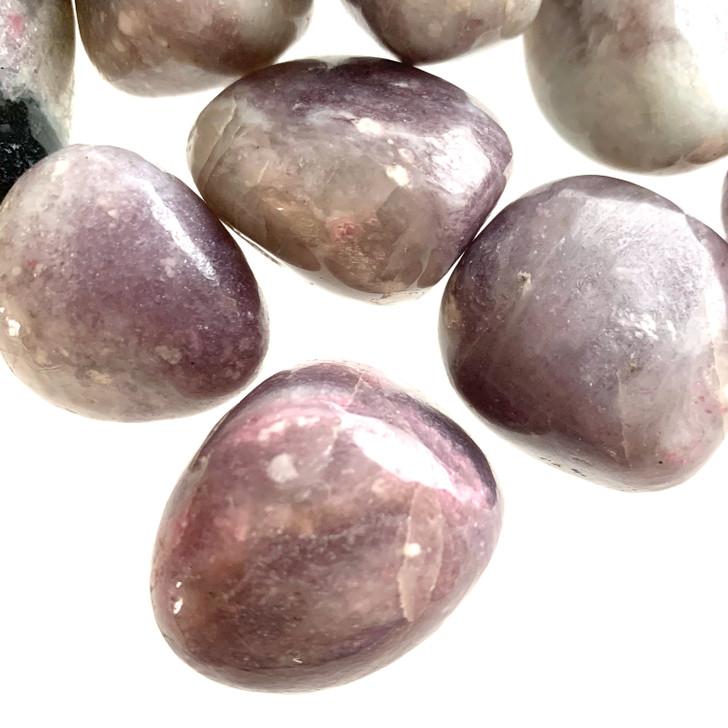 Pink Tourmaline Tumbled Stones