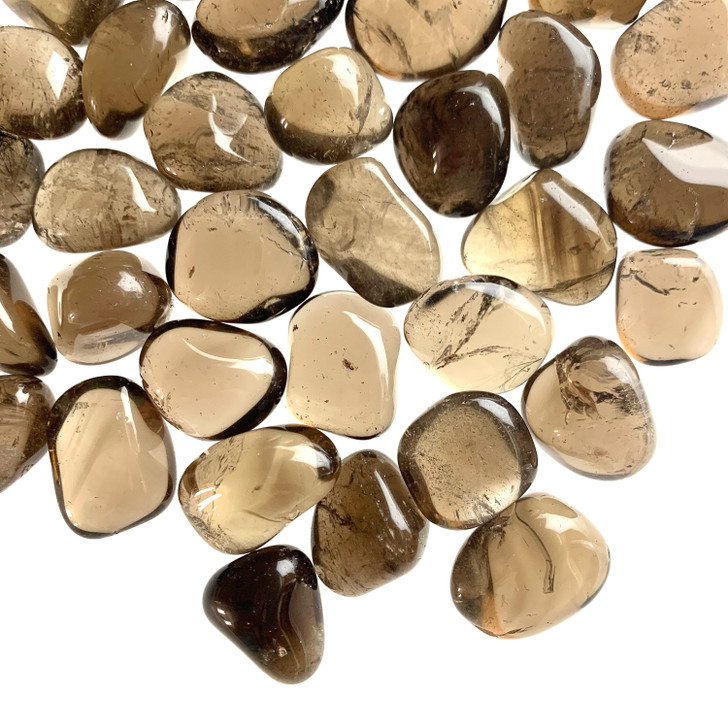 Smoky Fluorite Tumbled Stones
