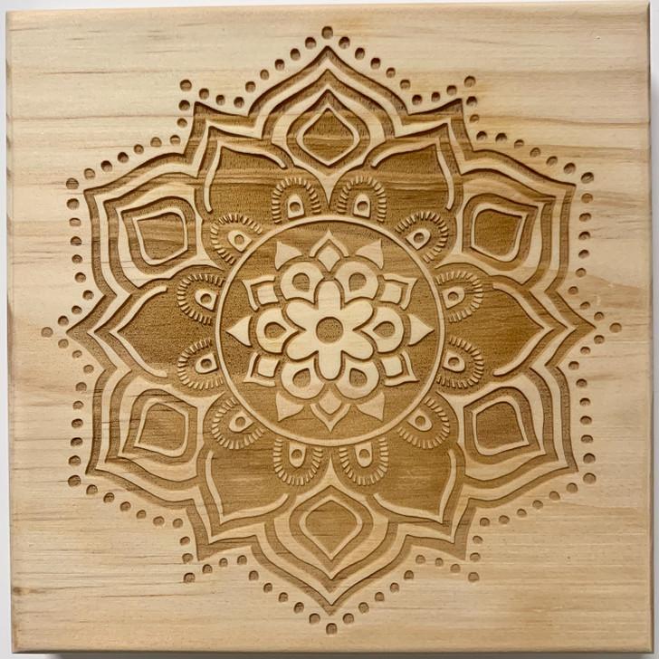 Well-Being Mandala Crystal Grid