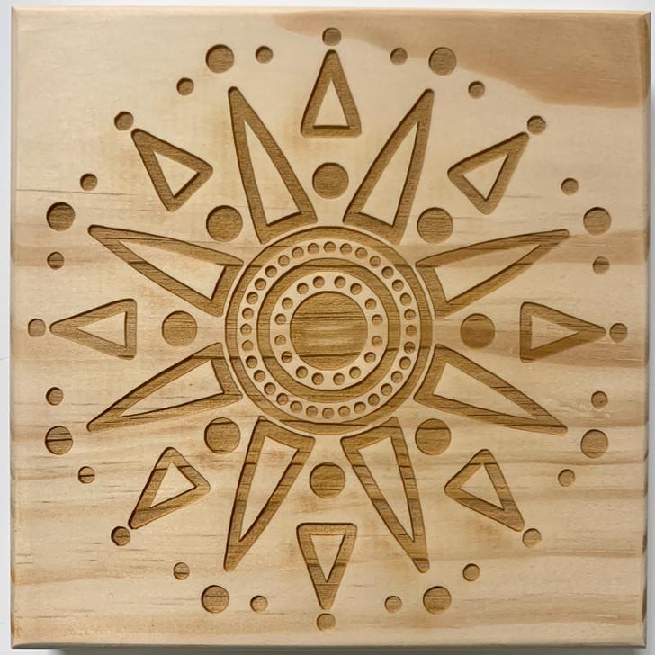 Abundance Mandala Crystal Grid
