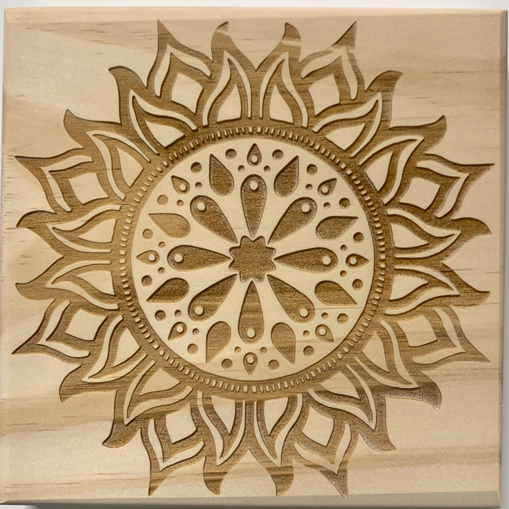 Creativity Mandala Crystal Grid