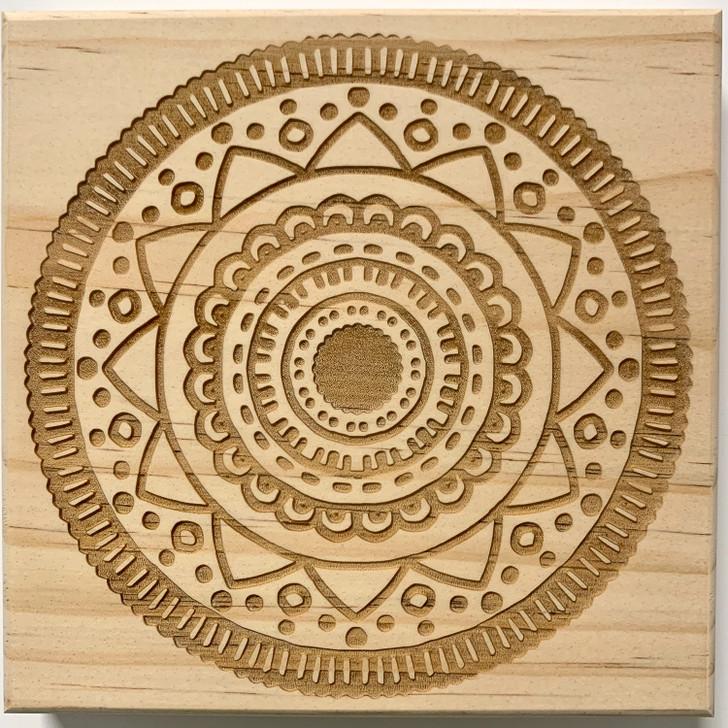 Happiness Mandala Crystal Grid