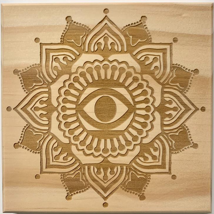 Intuition Mandala Crystal Grid