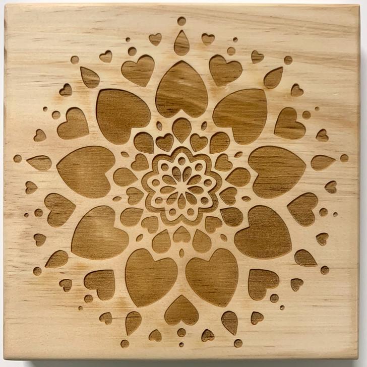Love Mandala Crystal Grid