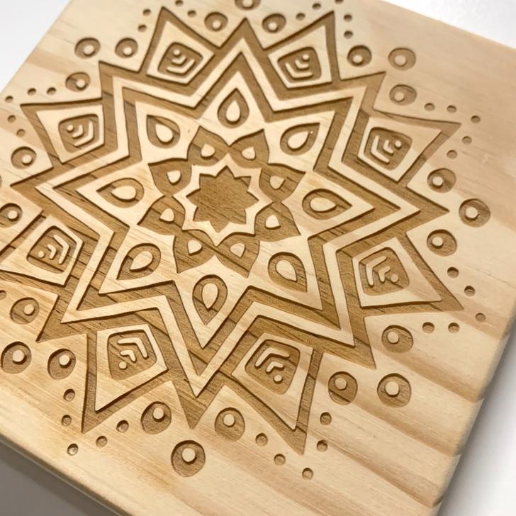 Lucky Mandala Crystal Grid