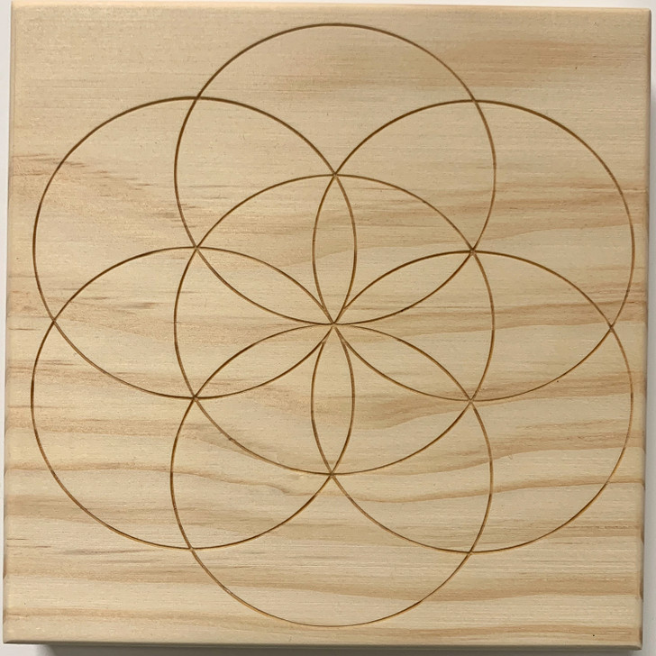 Seed of Life Sacred Geometry Crystal Grid