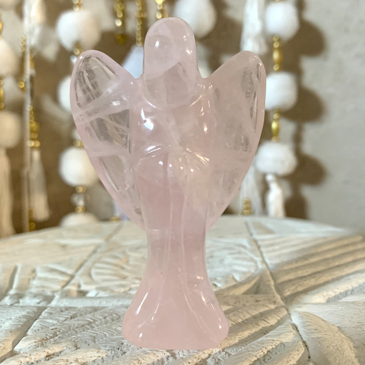 Rose Quartz Angel