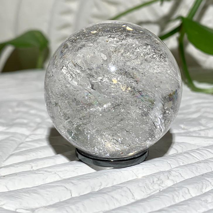 Crystal Quartz Sphere