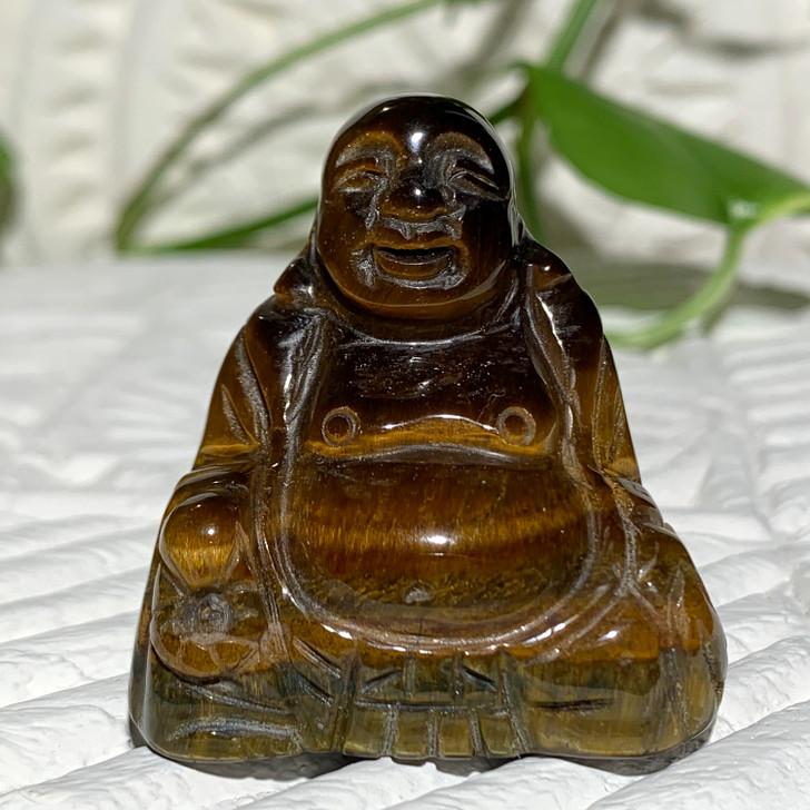 Gold Tiger Eye Buddha