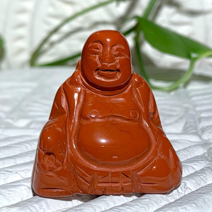 Red Jasper Buddha