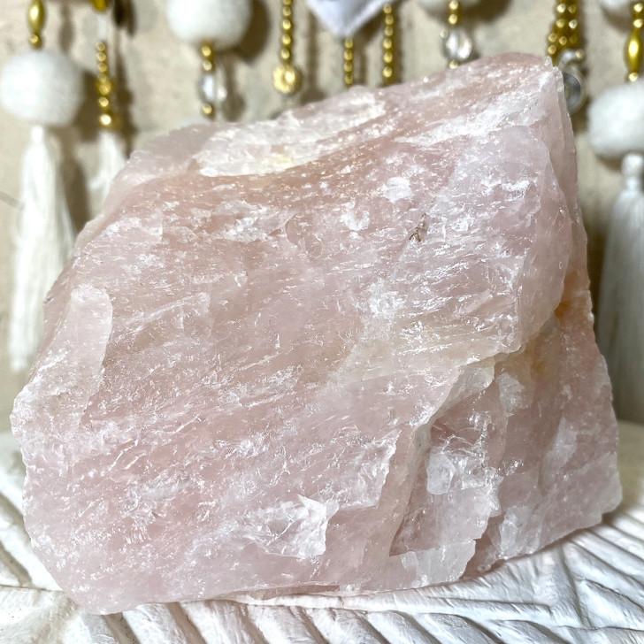 Rose Quartz Raw Crystal