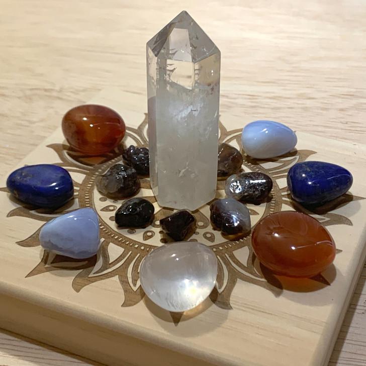Creativity Mandala Crystal Grid Set