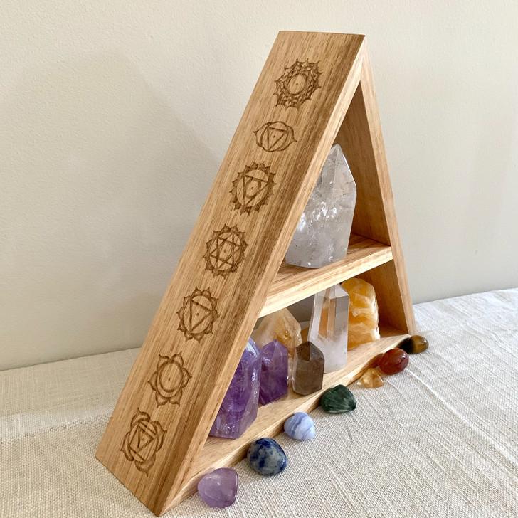 Chakra Triangle Shelf