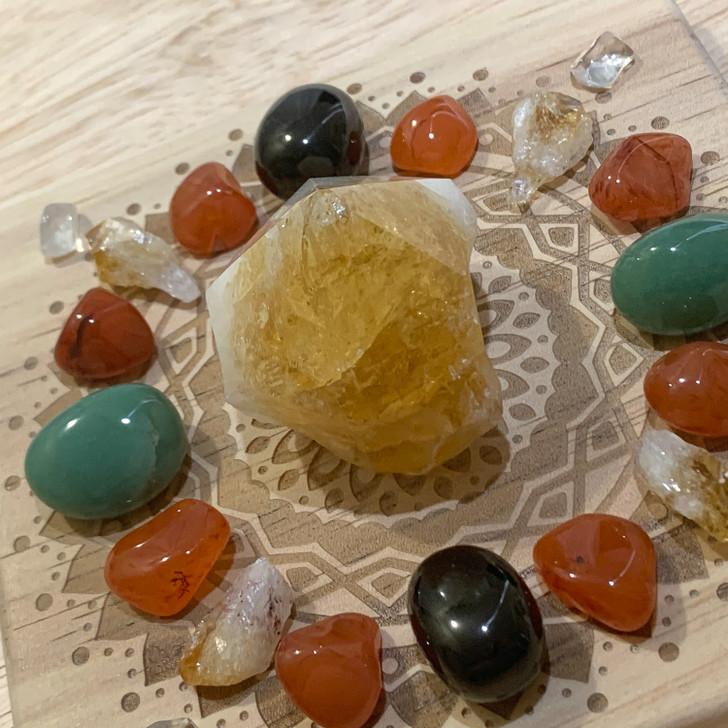 Business Success Mandala Crystal Grid Set