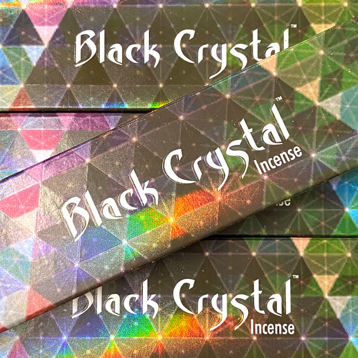 Black Crystal - Satya Incense Sticks