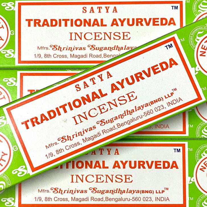 Traditional Ayurveda - Satya Incense Sticks