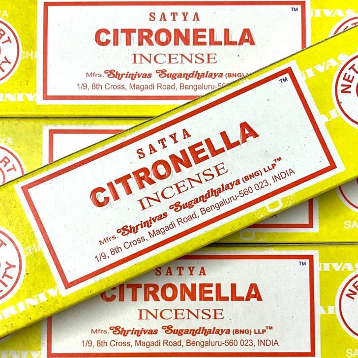 Citronella - Satya Incense Sticks