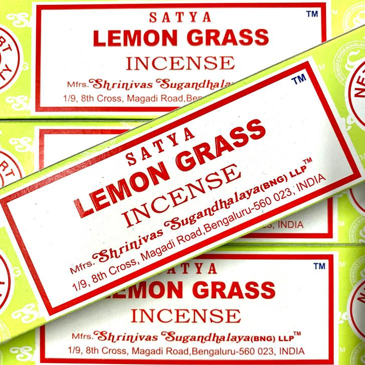 Lemon grass - Satya Incense Sticks