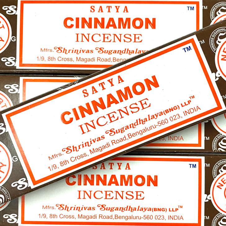 Cinnamon - Satya Incense Sticks