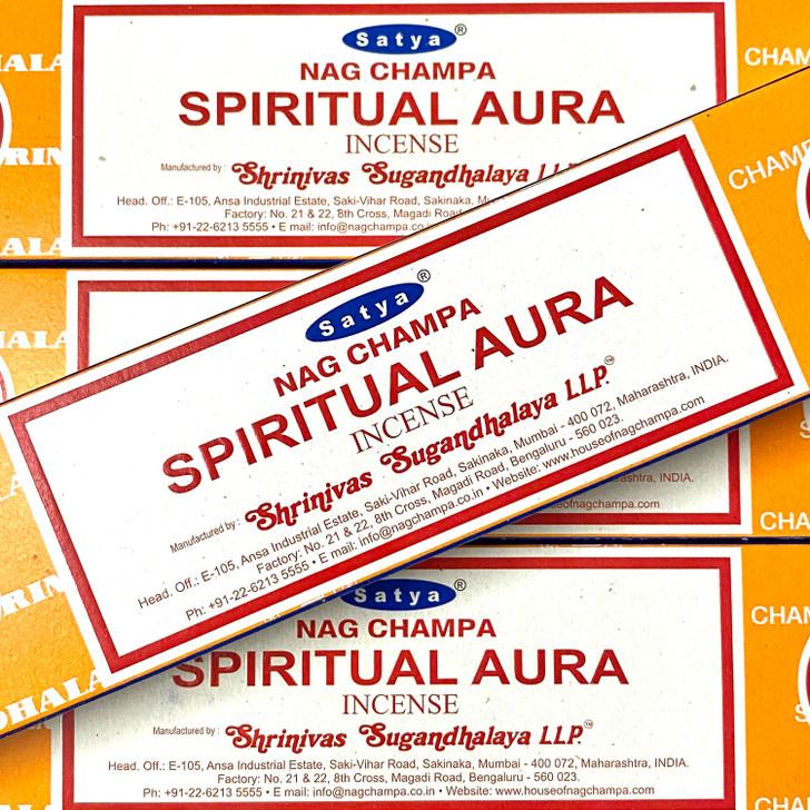 Spiritual Aura - Satya Incense Sticks