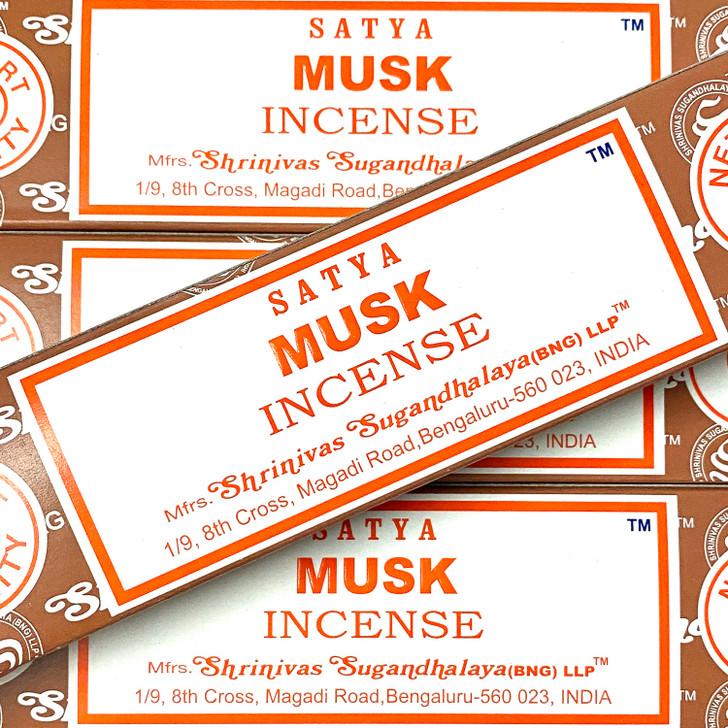 Musk - Satya Incense Sticks