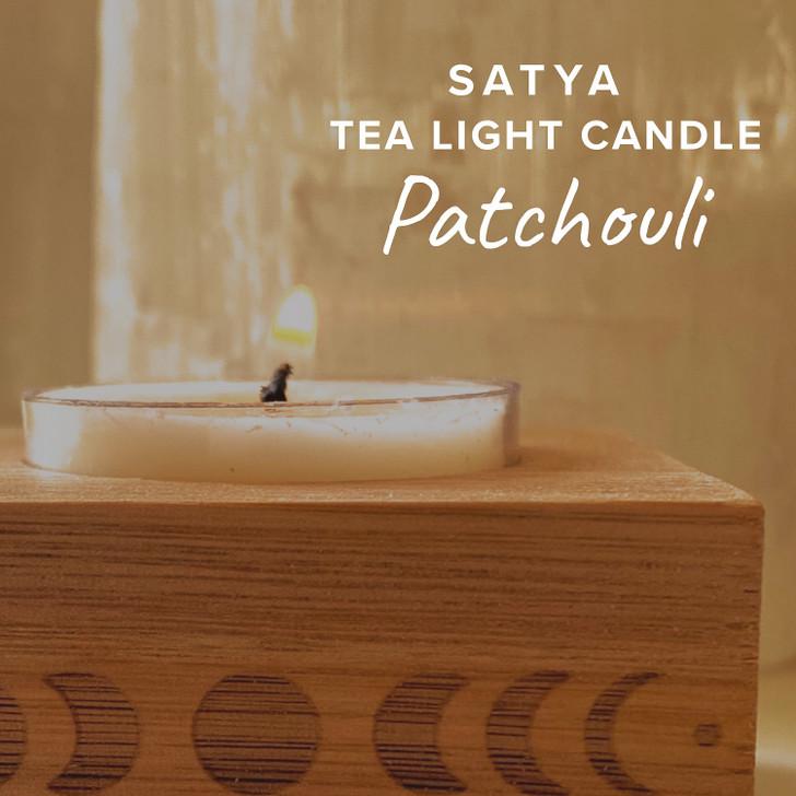 Patchouli Satya Tea Light Candle