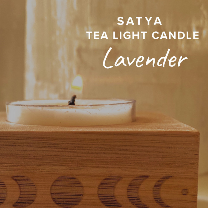 Lavender Satya Tea Light Candle