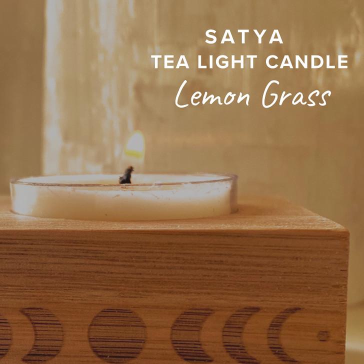 Lemon Grass Satya Tea Light Candle