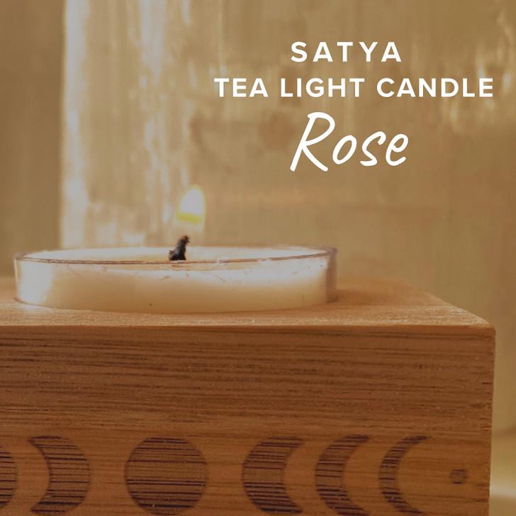 Satya Rose Tea Light Candle