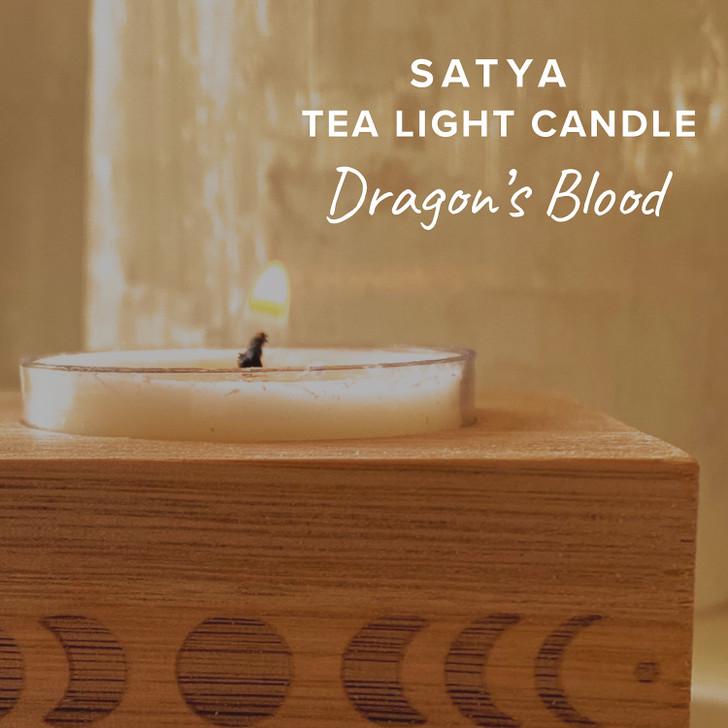 Dragon's Blood Satya Tea Light Candle