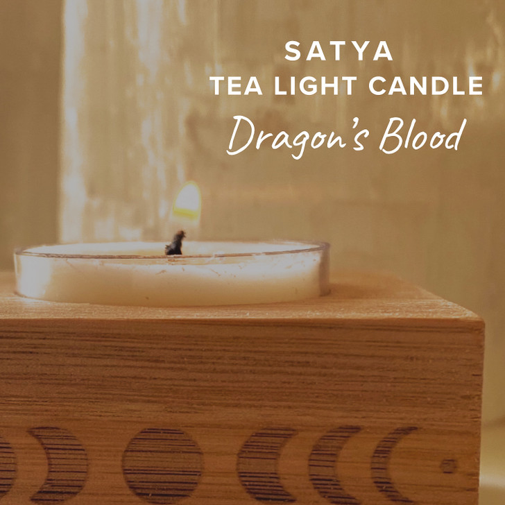 Dragon's Blood Satya Tea Light Candle