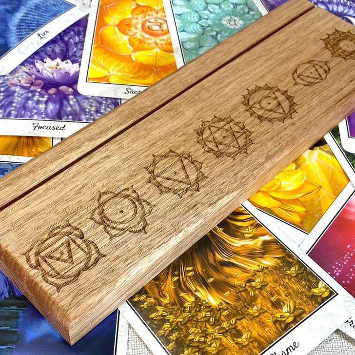 chakra Oracle and Tarot Card Stand