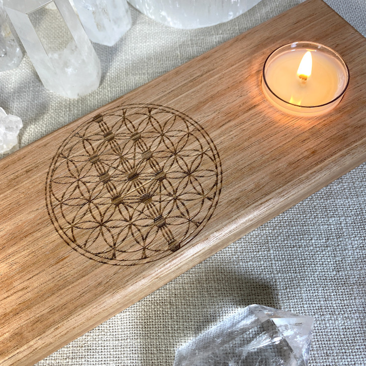 Tree of Life Candle Holder Grid