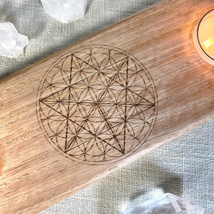 Merkaba Candle Holder Grid