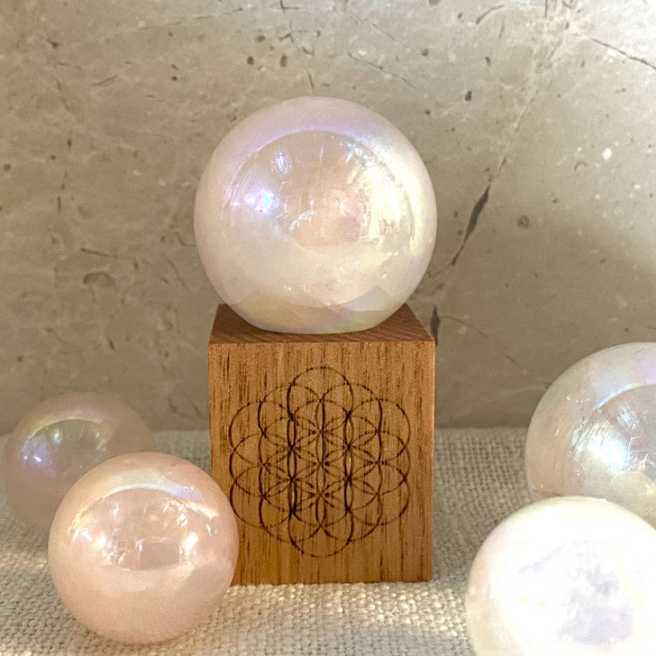 Flower of Life sphere stand