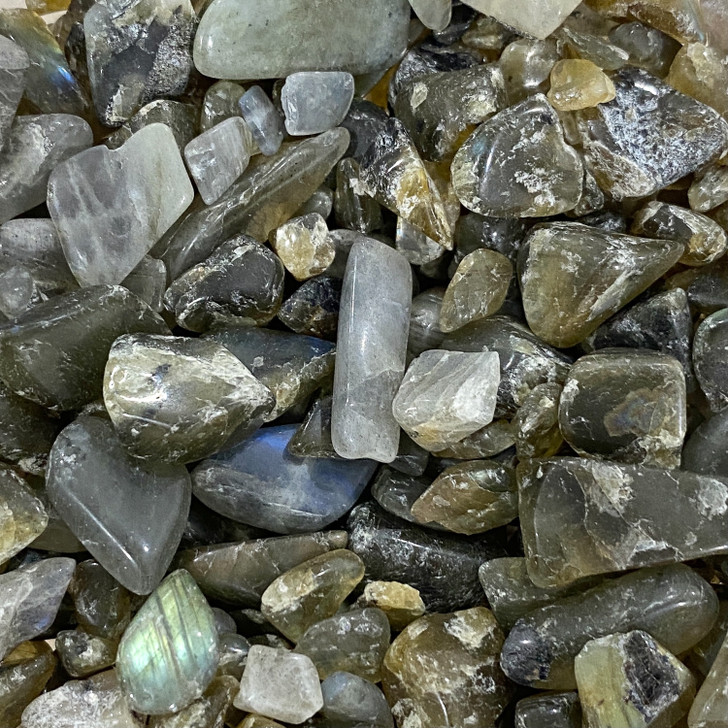 Labradorite Mini Tumbled Stone Chips