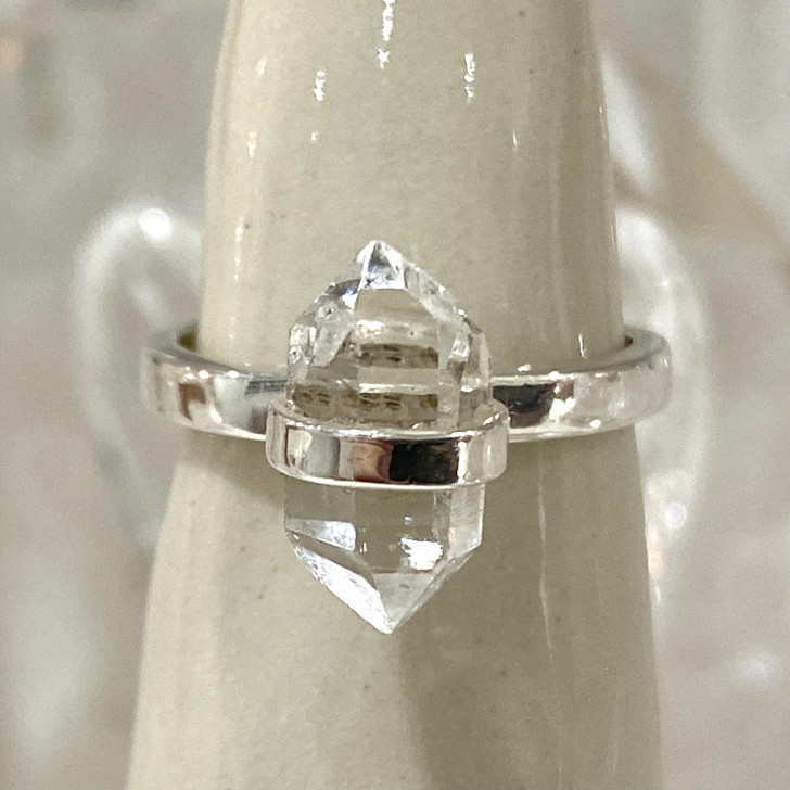 Herkimer Diamond Sterling Silver Ring